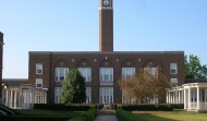 McClain High School Clock Tower